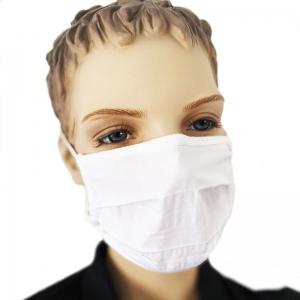 Behelfs-Mundschutz wiederverwendbar - Mund- und Nasenmaske 50 Stück