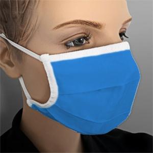 Mundmaske wiederverwendbar Farbe Blau 1 Stück