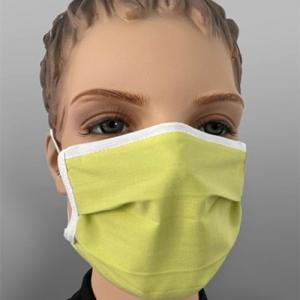 Mundmaske wiederverwendbar Farbe Mittelgrün 1 Stück