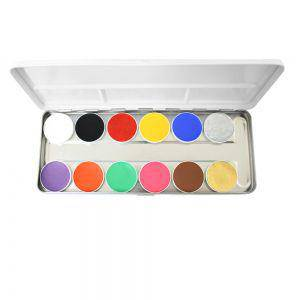 Aqua Paints Grundpalette Bodypainting Farbe