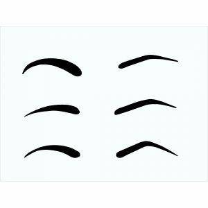 Stencil Eyebrow