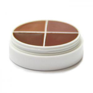 Ben Nye Creme Shadow Wheel Modellage Schattieren Camouflage Make up