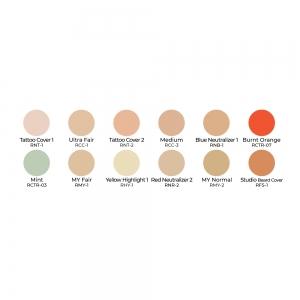 Ben Nye Concealer Palette Camouflage Make-up
