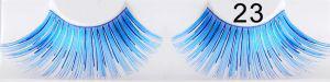 Dichte blaue falsche Wimpern 23