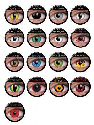 Farbige Effekt Kontaktlinsen