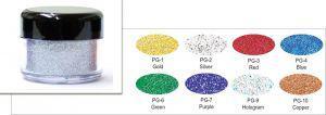 Polyesterglitter - lose 25 ml