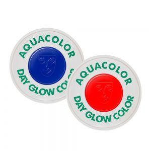 Aquacolor Tagesleucht Farbe Leuchtfarbe Schwarzlicht UV Schminke