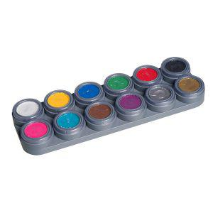 Water make up Palette A Karneval Schminke