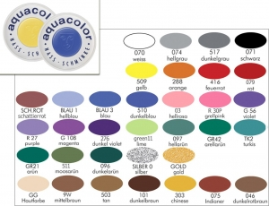 Bodypainting Farbe Aquacolor 30ml