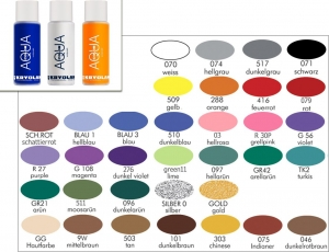 Aquacolor Liquid 150 ml Bodypainting Farbe